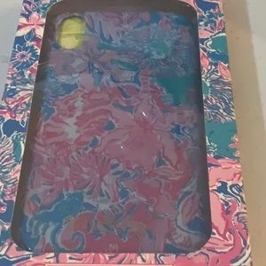 NWT LILLY PULITZER PHONE CASE XR